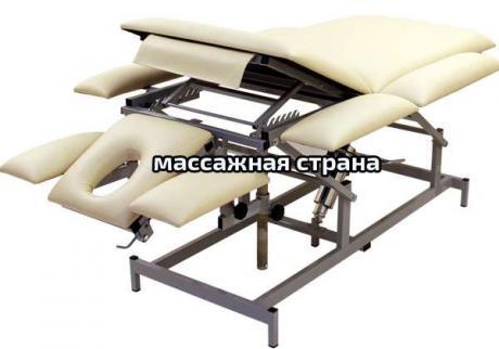 Массажный стол Профи 5.3 с гидроприводом