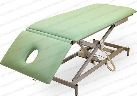 Массажный стол Профи 6 на Х раме с электроприводом